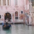 イタリアの水路